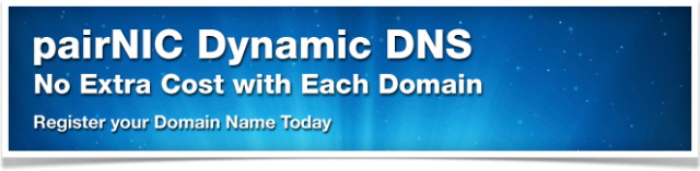 pair Domains Dynamic DNS